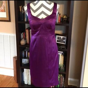 NWOT Sangria Purple Party Dress SIZE 6